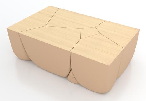 Stones Table Step 5: Rendering