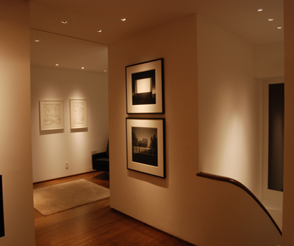 Eureka Valley residence, design by architect Pierre Barral with lighting design by Hiram Banks