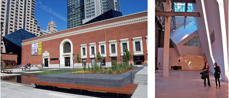 Daniel Liebskind's design for the Contemporary Jewish Museum in San Francisco (Photos by Todd Lapin and David Pham )
