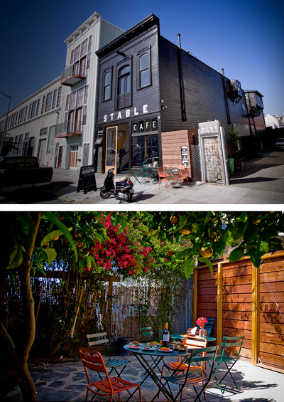 Malcolm Davis' office building houses 12 businesses including a neighborhood cafe. (Photos: Jeannie Choe)