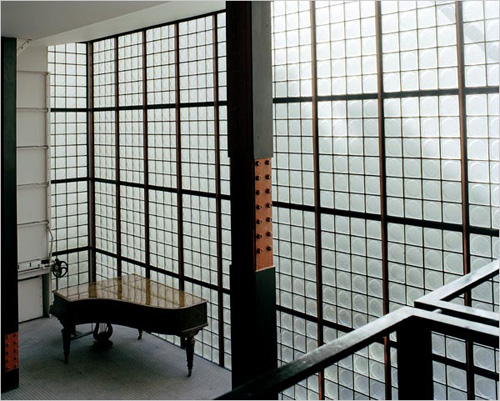 The Maison de Verre (house of glass), completed in 1932, is an example of early industrial-Modern design.