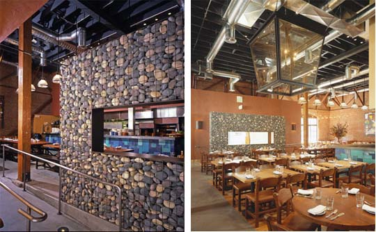 Zack/deVito Architecture worked with several restauranteurs to create Tres Agaves, a modern Mexican restaurant.