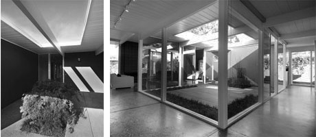 Entry and interior of Oak Mountain, an Eichler property for sale in San Rafael, CA