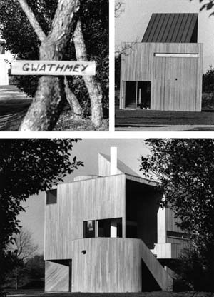 Photos by Karin Payson of Charles Gwathmey's studio.