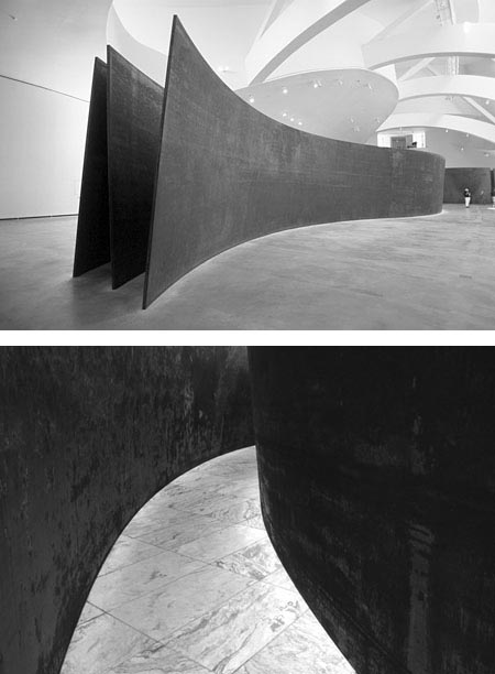 Olle Lundberg admires sculptor Richard Serra's work for its spatial simplicity. Serra uses a lot of Cor-Ten steel, which gives his works a monumental yet also tactile quality, and rusts into a rich reddish brown.