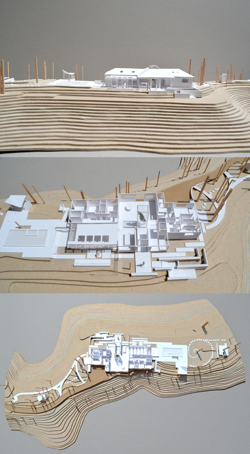 Different Views of our Ravensbury Project Model