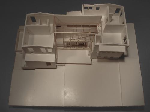 Upper Floor: Initial Model