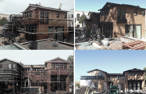 Exterior Views:  Construction 1 | Construction 2