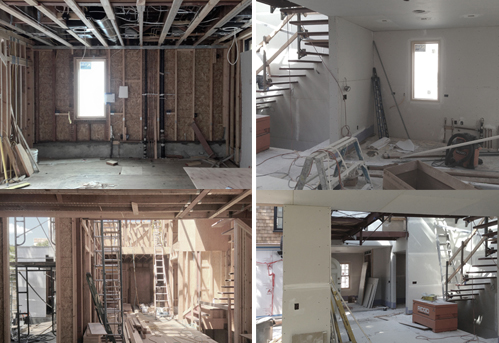 Kitchen Development. Construction 1 | Construction 2