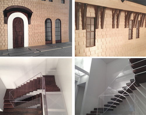 Clockwise: Entry Door, Front Facade, Stairs, Handrail