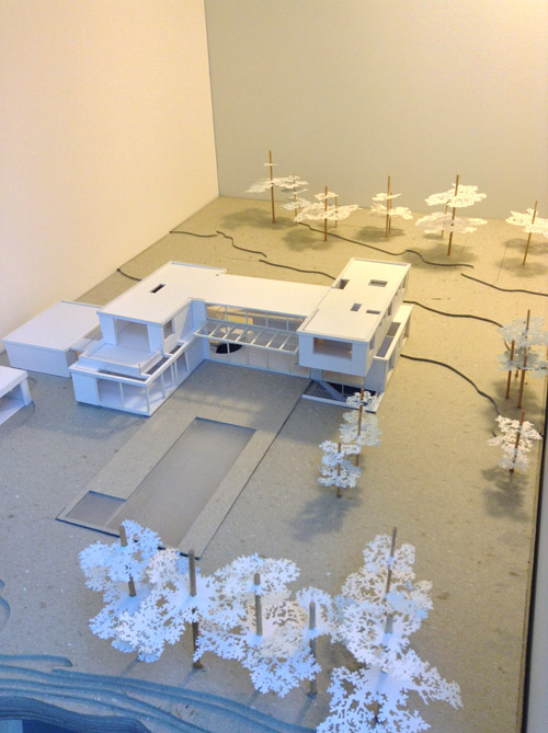 Aerial View of Atherton Model