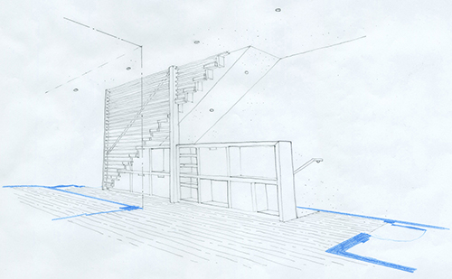 Stair Sketch