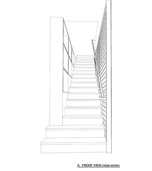 Lag A7.4 stair print