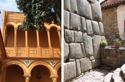 Unlike the Spanish architecture that followed, Incan buildings were austere and mostly bare of ornament. Photos: Mark English Architects