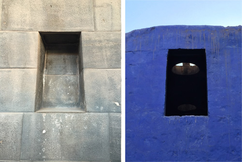 The Incas paid close attention to window and door openings. Photos: Mark English Architects
