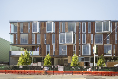 450 Hayes Street is a new multifamily housing project in San Francisco from DDG, with design by Handel Architects.