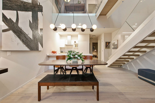 At last, new-construction with a loft-like interior that still looks like a real living space. 450 Hayes, by DDG with Handel Architects