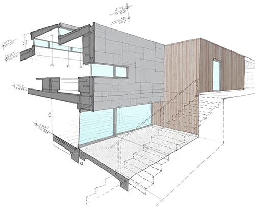 Everyone on the project team, including the client, needs to understand the design. Image: Mark English Architects