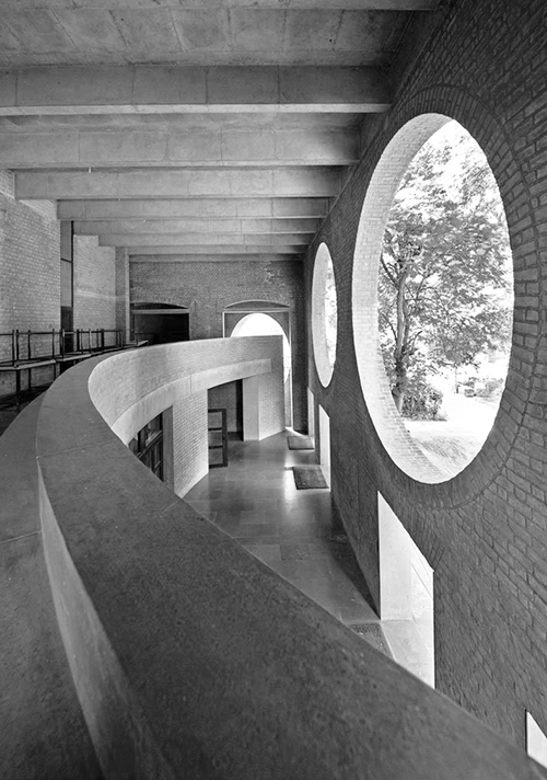 Indian Institute of Management, Ahmedabad, India by Louis Kahn.