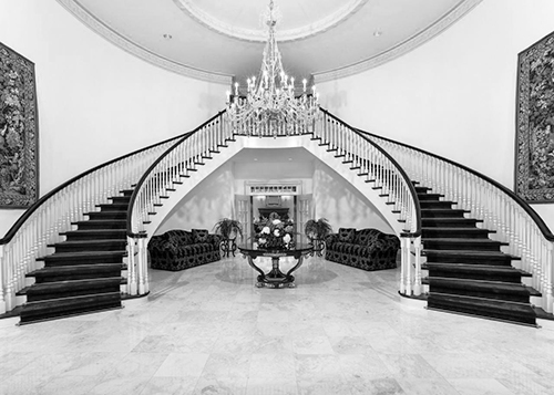 A grand staircase like this one is spectacular, but where does it lead?