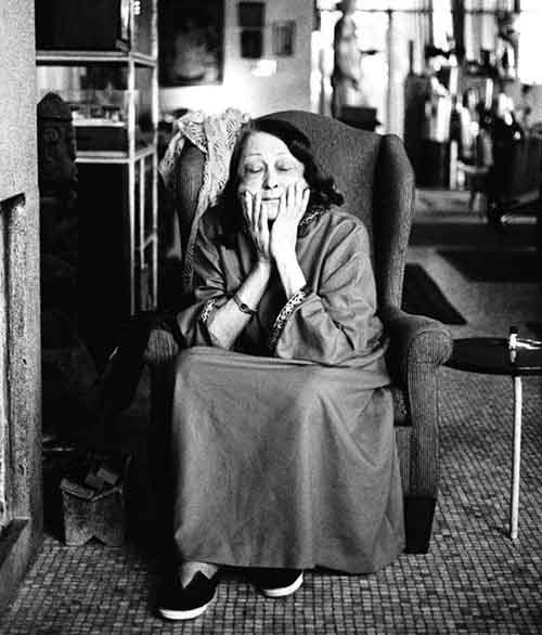 Lina Bo Bardi, 1991. Photo by Juan Esteves. Image from Places Journal.