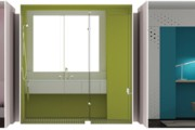 Min/Day Architecture Creates Rapid Custom-Fabricated Interiors