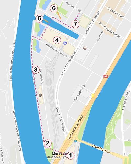Lyon's La Confluence District: Walking Tour